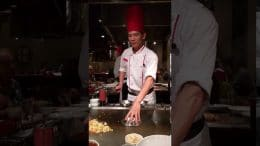 VIDEO: Benihana Cupertino chef's magic trick stuns guests