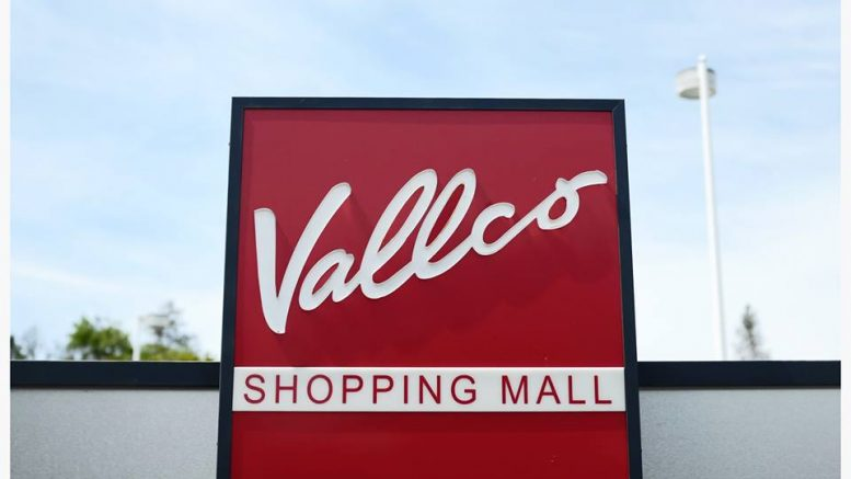Entrace of Vallco Shopping Mall in Cupertino