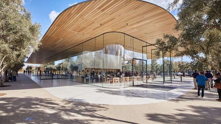 Apple Introduces New Visitor Center With Views of Its Campus