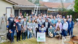 Home of 80-year-old woman repaired by Cupertino community repaired by seventy three volunteers
