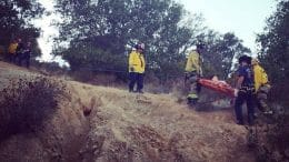 Firefighters rescue hiker who fell off trail in Cupertino