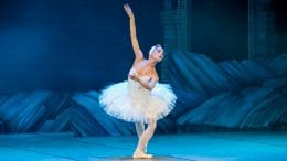 Swan Lake Ballet dancer coming to Cupertino