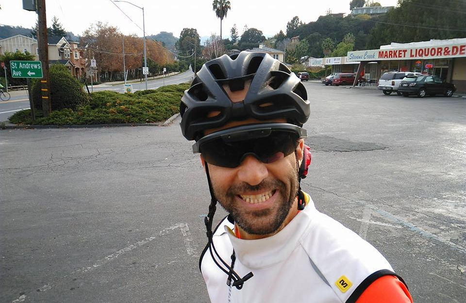 Cycling smartglasses tested in Cupertino