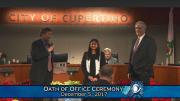 New Mayor of Cupertino and Vice Mayor take office