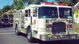 Person dies in vehicle fire near Cupertino cement plant