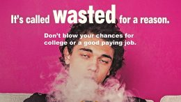 Wasted on Weed campaign image