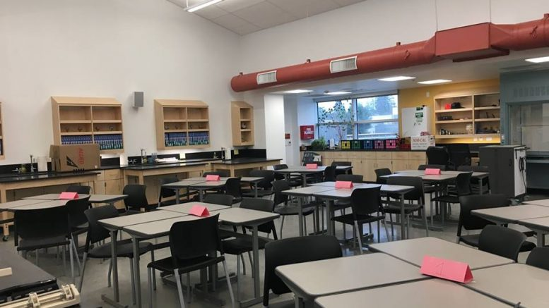 Cupertino High School opens new classrooms and science buildings