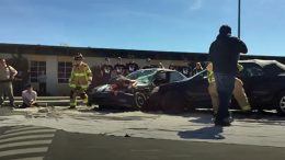 This emergency response to a crash at Homestead High in Cupertino on Tuesday was thankfully only a simulation, but it was impactful nonetheless.
