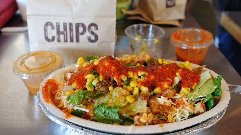 Cupertino High School is hosting a Chipotle fundraiser for the class of 2021 on April 24 at the 10385 S. De Anza Blvd location.