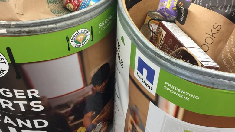 The Food for Fines program runs from April 2-30 at any Santa Clara County Library location, including the Cupertino Library.