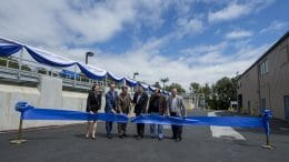 A ribbon cutting for San Jose Water's newest plant took place on May 23.