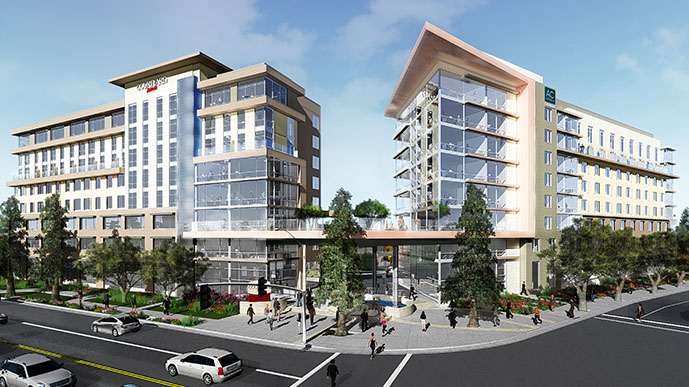 A new hotel by AC Marriott will open this summer on the border of Cupertino at 725 South Fair Oaks Avenue in Sunnyvale.
