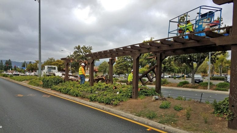 Cupertino begins reconstruction of medians along De Anza Boulevard
