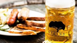 Steins Beer Garden in Cupertino is hosting a one-year anniversary