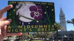 Shakespeare in the Park starting July 21.