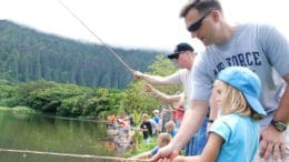 Fish for free at the Stevens Creek County Park on September 1.