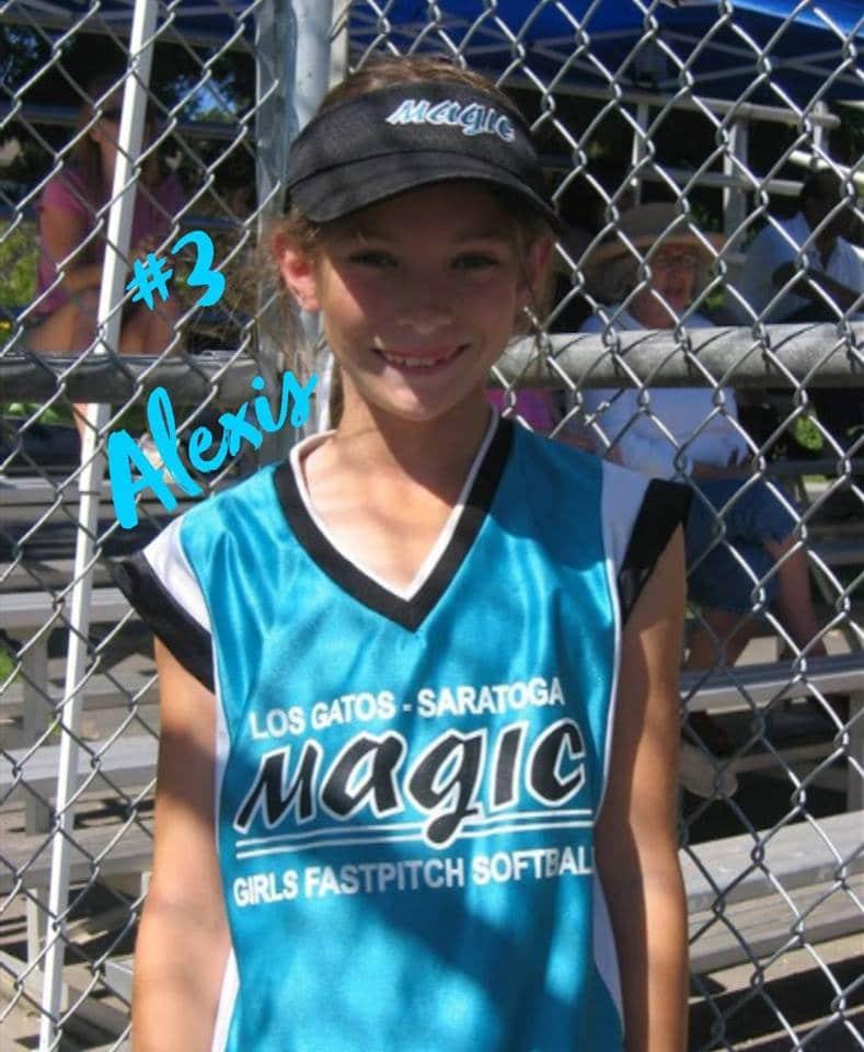 Photo of Alexis Briski courtesy of Los Gatos Cupertino Saratoga Girls Fastpitch Softball Facebook.