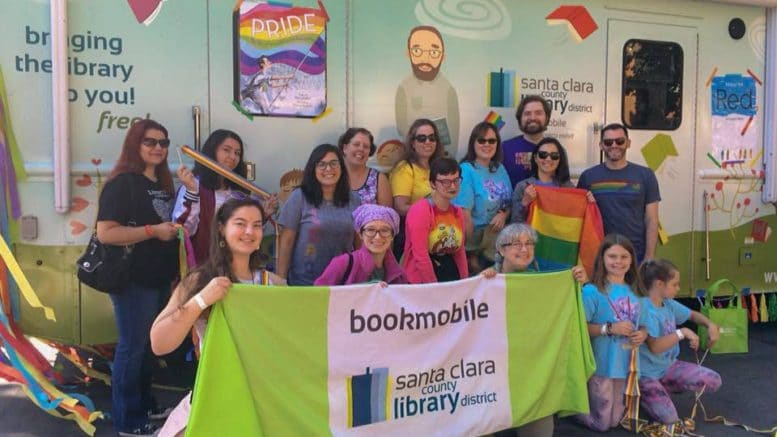 Photo courtesy of SCCLD Bookmobile Facebook.