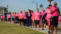Walk for Breast Cancer Awareness on October 27.