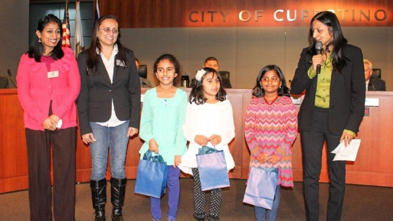 Pictured: The 2016 Young Artist Award Winners. Courtesy of City of Cupertino Facebook page.