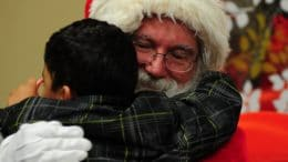 Santa will be making home visits in Cupertino starting Dec. 15.