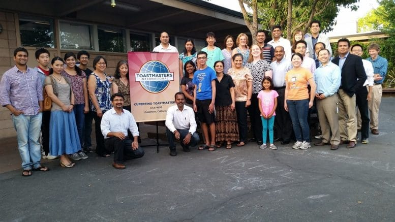 Photo courtesy of Cupertino Toastmasters.