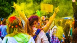 The Holi Festival set to return to Memorial Park on April 7.